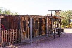 Partes dianteiras ocidentais da loja no deserto do Arizona Imagem de Stock