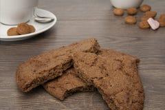 Partes do biscoito Fotografia de Stock Royalty Free