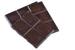 Partes do chocolate Imagem de Stock