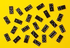 Partes do dominó imagens de stock