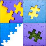 Partes do enigma Imagens de Stock