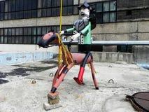 Partes do ferro de metal Soldador da arte para fazer estatuetas feericamente fotos de stock royalty free