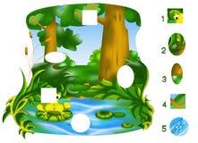 Partes do jogo Imagens de Stock