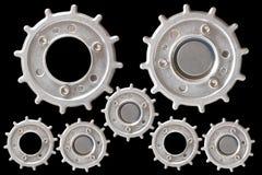 Partes do metal da engrenagem Foto de Stock