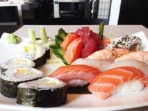 Partes do sushi Fotos de Stock Royalty Free
