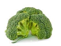 Partes frescas, cruas, verdes dos bróculos Foto de Stock Royalty Free