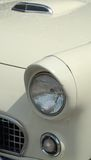Partes frontales clásicas del coche Fotografía de archivo