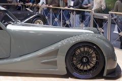 Partes frontales de un coche de deportes Imagen de archivo libre de regalías