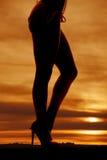 Partes inferiores de bikini laterales de las piernas de la mujer fotos de archivo libres de regalías