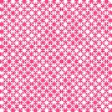 Partes materiais cor-de-rosa do projeto - serra de vaivém - xadrez do campo Imagem de Stock