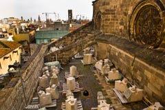 Partes no telhado Imagens de Stock Royalty Free