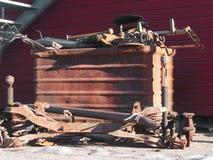 Partes oxidadas velhas dos carros Fotografia de Stock Royalty Free