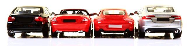 Partes posteriores del coche Imagenes de archivo