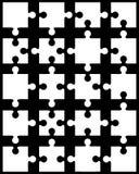 Partes separadas do enigma Imagens de Stock Royalty Free