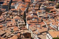 Partes superiores agradáveis do telhado Fotografia de Stock Royalty Free
