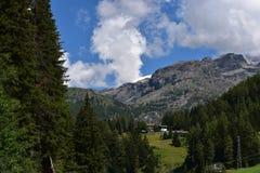 Partes superiores da montanha Imagem de Stock