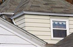 Partes superiores do telhado Imagens de Stock Royalty Free