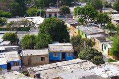 Partes superiores do telhado Fotos de Stock