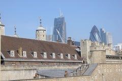 Partes superiores do telhado Imagem de Stock Royalty Free