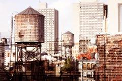 Partes superiores do telhado de New York Foto de Stock Royalty Free