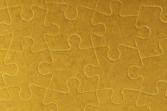Partes vazias conectadas do enigma de serra de vaivém como o fundo Imagem de Stock Royalty Free