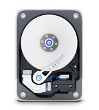Parth computer HDD Stock Images