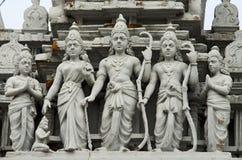 Parthasarathy tempel Arkivbilder