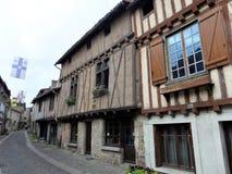 Parthenay è una città fortificata antica nel dipartimento di Deux-Sèvres in Francia occidentale fotografia stock