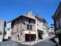Parthenay jest antycznym warownym miasteczkiem w Deux-Sèvres dziale w zachodnim Francja obraz stock