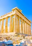 Parthenon της ακρόπολη Στοκ Εικόνες