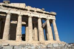 parthenon акрополя стоковые фото