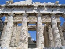 parthenon акрополя Стоковые Изображения