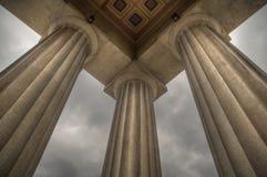 parthenon колонок Стоковые Фотографии RF
