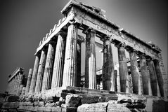 parthenon Royaltyfri Foto