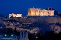 parthenon Royaltyfri Bild