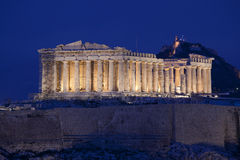Parthenon Royalty Free Stock Photography