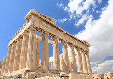 Parthenon. In the Acropolis, Athens, Greece Royalty Free Stock Images
