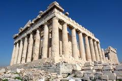 The Parthenon. In the Akropolis, Athens Royalty Free Stock Photos