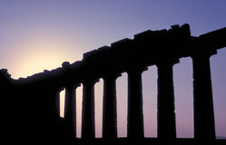 Parthenon 18 Stock Image