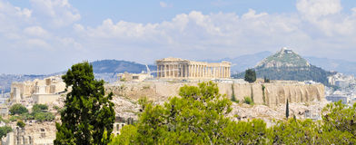 The parthenon Stock Image