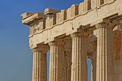Parthenon Fotografia de Stock Royalty Free