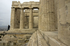 parthenon royaltyfria bilder