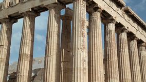 Parthenon stock footage