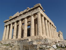 Parthenon stockfoto