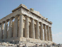 Parthenon photo libre de droits