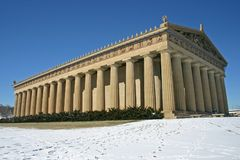 Parthenon 7 de Tennessee Foto de Stock