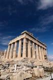 Parthenon, acrópolis, Foto de archivo libre de regalías