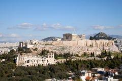 The Parthenon.Acropolis. Royalty Free Stock Photos