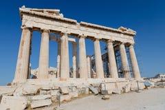 Parthenon in Acropolis Royalty Free Stock Image