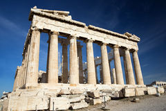 Parthenon on the Acropolis Stock Photo